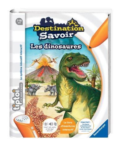 Ravensburger-00599-Jeu-ducatif-lectronique-Tiptoi-Livre-Destination-Savoir-Dinosaures-Tiptoi