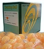 照和商事 卓球 ピン球 トレーニングボール 10ダース オレンジ