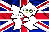 2012 LONDON OLYMPICS GAMES - 3 - FRIDGE MAGNET 70mm x 45mm - IDEAL GIFT