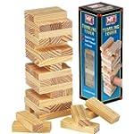 Wooden Tumbling Stacking Tower Kids F...