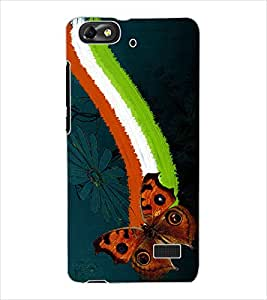 ColourCraft Beautiful Butterfly Design Back Case Cover for HUAWEI HONOR 4C
