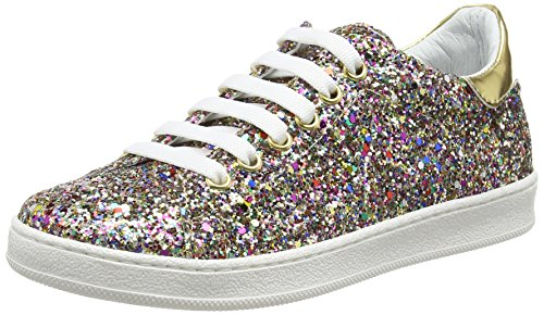 Yep by JonakEden - Sneakers alla caviglia Bambina , Multicolore (Multicolore (Glitter Multicolore)), 40