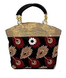 Kuber Industries Women's Handbag(Black,Mku007621)