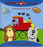 "Mother Goose ""Puppy Dog Tails"" 6 Board Books and Cd"