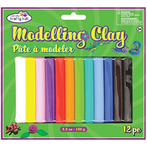 Modeling Clay 150 Grams/Pkg-12 Colors (Modeling Clay compare prices)