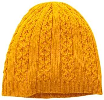 Scala Women's Acrylic Beanie Hat, Orange, One Size