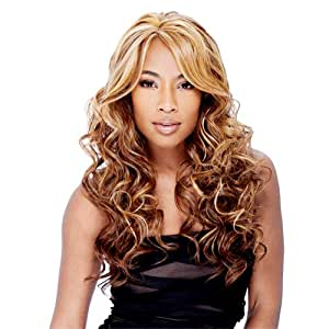 FreeTress Equal FUTURA Hair Invisible Part Lace Front Wig - Vanessa Color 1