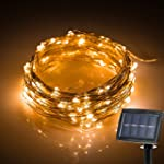 {New Version Solar Powered} 150LED 72...