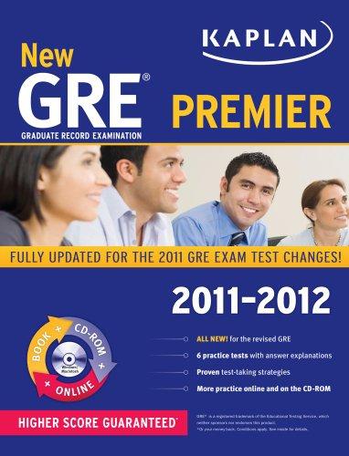 New GRE 2011-2012 Premier with CD-ROM (Kaplan Gre Exam Premier Live)