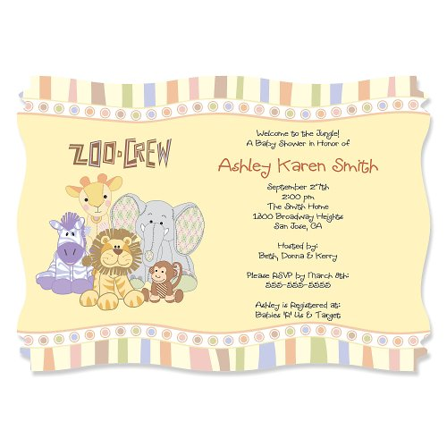 Baby Shower Zoo Theme front-1058123