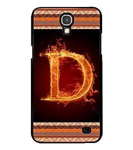 Printvisa 2D Printed Alphabet D Designer back case cover for Samsung Galaxy Mega 2 G750F- D4192