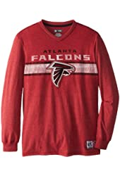 NFL Men's Victory Pride Long Sleeve V-Neck T-Shirt