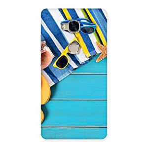 Stylish Cool Beach Print Back Case Cover for Huawei Honor 5X