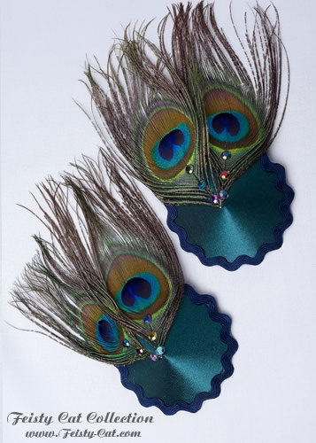 aufsehenerregende-pasties-mit-pfauenfedern-paradise-grun-blau