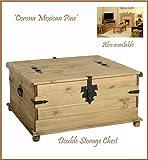 Pine Corona Storage Chest - Double