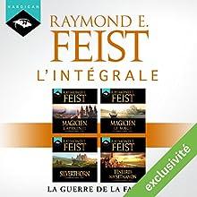 Raymond E. Feist : L'intégrale de La Guerre de la Faille | Livre audio Auteur(s) : Raymond E. Feist Narrateur(s) : Arnauld Le Ridant