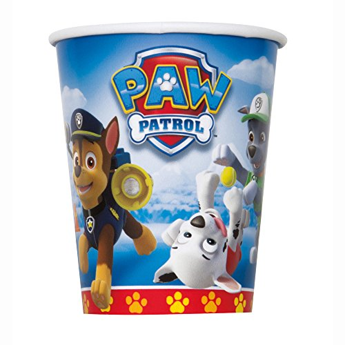 9oz PAW Patrol Paper Cups, 8ct