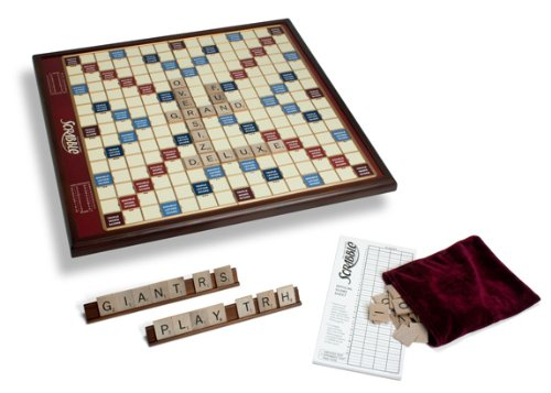 best price deluxe giant scrabble game for sale cheap. Black Bedroom Furniture Sets. Home Design Ideas