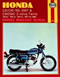Haynes Manual for Honda CD/CM185 200T & CM250C 2-valve Twins (77 - 85) Including an AA Microfibre Magic Mitt
