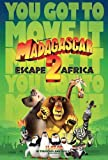 Madagascar 2 escape to africa - original uk d/s quad cinema poster