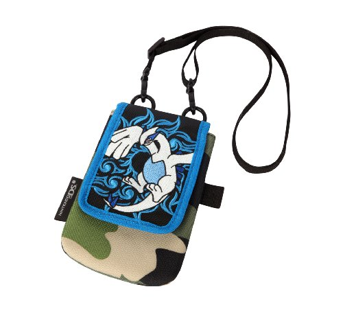 Pokemon Diamond & Pearl Lugia Shoulder Bag Pouch For Nintendo Dsi/ Ds Lite front-315502
