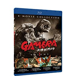 Gamera: Ultimate Collection V1 (4 Pack) [Blu-ray]