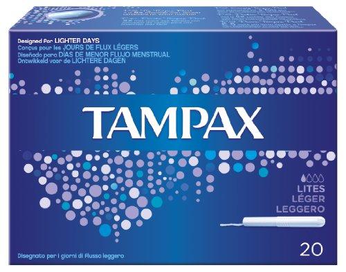 Tampax Blue Box Lites Pz.20