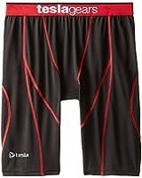 Tesla New Men's Cool Compression Pants Tights Leggings Capri Sports Baselayer Underwear Running Underlayer Clothe