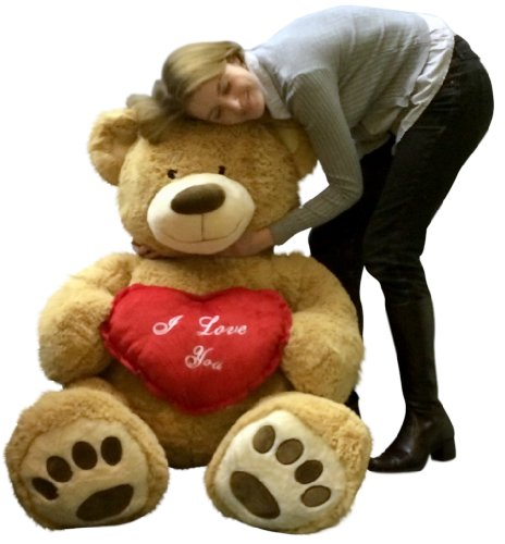 ... I Love You Giant Teddy Bear For Valentines  ...