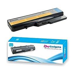 Lap Gadgets Laptop Battery For Lenovo G570 6 Cell PN- L09S6Y02