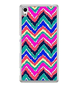 ifasho Animated Pattern of Chevron Arrows Back Case Cover for Sony Xperia Z4