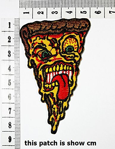 Skull Pizza Hut Cooking Chef Kid Baby patch cartoon chidren kids Embroidren Iron patch / logo Sew On Patch Clothes Bag T-Shirt Jeans Biker Badge Applique (Kids Cooking Stickers compare prices)