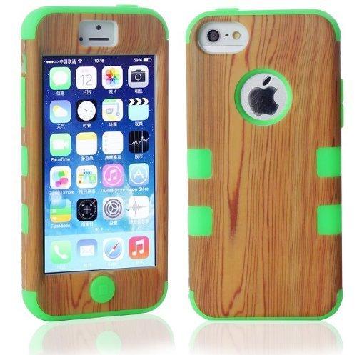 shopmallhk-affaire-bois-motif-de-grain-hybride-a-impact-blinde-dur-pour-apple-iphone-5c-vert