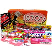 1970s Retro Candy Gift Box-Decade Box Gift Basket - Classic 70s Candy