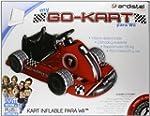 Kart da corsa gonfiabile e volante pe...