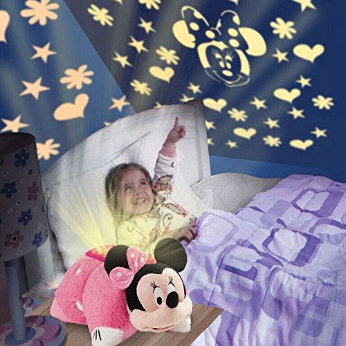 disney pillow pets dream lites minnie mouse stuffed animal plush toy. Black Bedroom Furniture Sets. Home Design Ideas