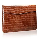 Brown- Leather Apple Macbook Air 13 - inch leather case
