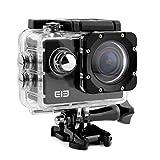 Duomishu Sport Action Kamera Full HD 16MP 1080P mit wasserdichtem und stoßfestem 170°Wide Angle...