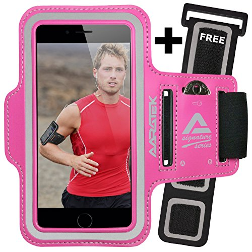 aaratek-signature-series-pro-sport-armband-for-iphone-6-6s-galaxy-s6-s5-s4-ipods-pink-with-free-exte