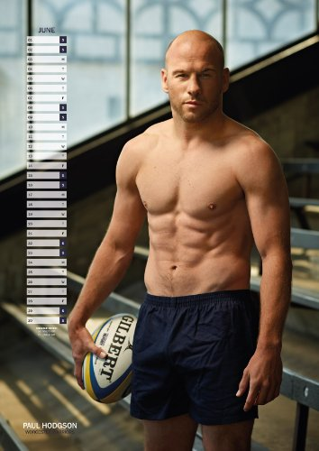 Official Rugby's Finest Hunks 2013 Calendar