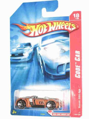 Code Car Series -#18 Suzuki GSX-R/4 #2007-102 Collectible Collector Car Mattel Hot Wheels 1:64 Scale - 1
