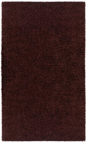 """Brown 30X50"""" Shagadelic Chenille Twist Rug with Free Shipping"""