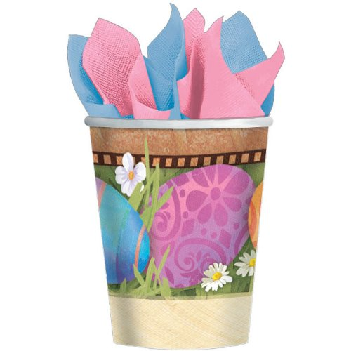 Easter Elegance 9oz Cups Party Accessory (8 count) - 1