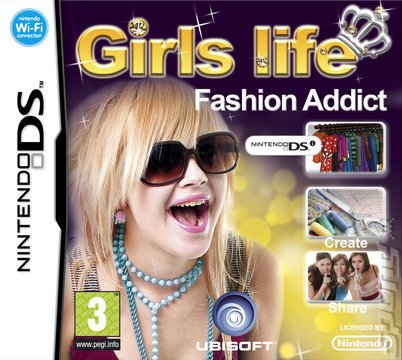 Girls Life Fashion Addict (Nintendo DS [UK Import] NOT DSI Compatible)