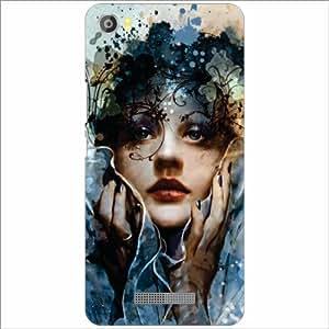 Lava Iris X8 Back Cover - Silicon Dazzling Designer Cases