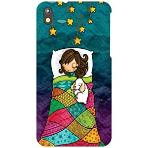 HTC Desire 816G Back Cover - Resting Designer Cases
