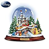 An Old Fashioned Disney Christmas Musical Snowglobe Showcasing 13 Classic Characters by The Bradford Exchange