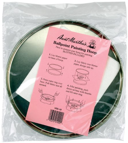 AUNT MARTHA's 10-Inch Painting Hoop