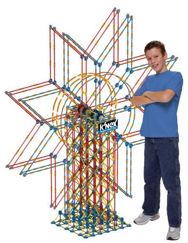 Giant 6-ft K'nex Double Ferris Wheel