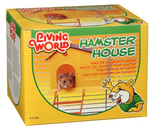Good Living World Hamster House, with Step Ladder